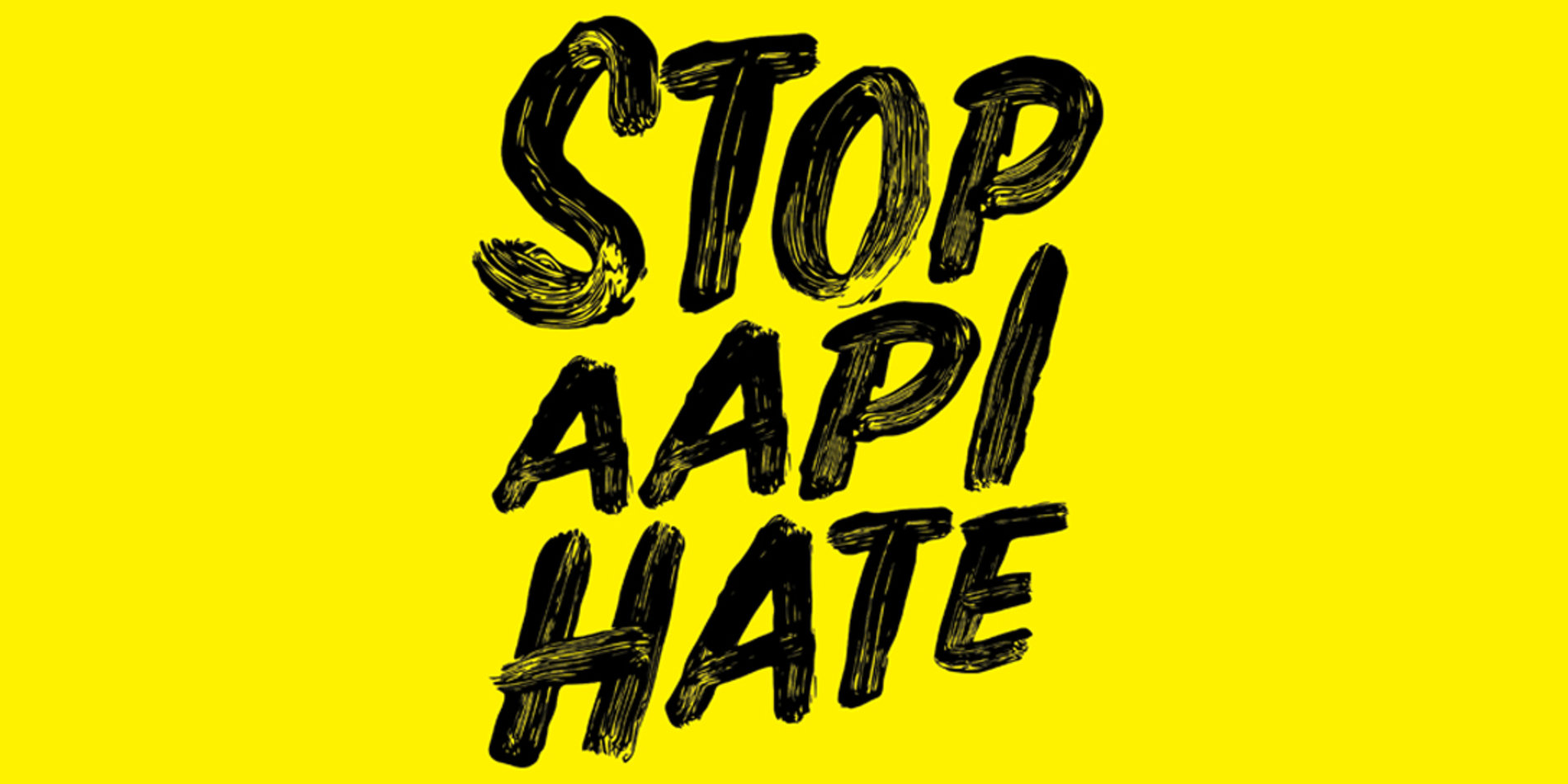 "Tile image featuring a banner graphic that reads as ""Stop AAPI Hate"" generously created by stopaapihate.org."